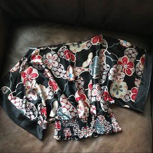 Japanese like satin blouse